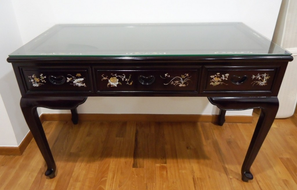 Writing Desk The World Rosewood